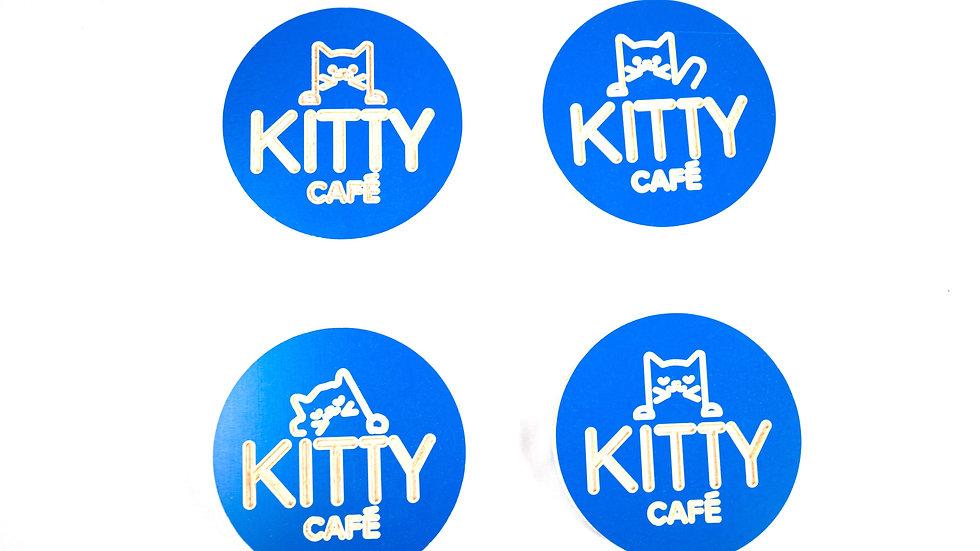Kitty Coasters