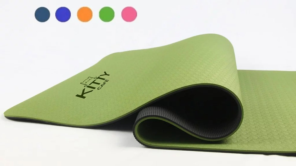 Kitty Cafe Branded Kitty Yoga Mat