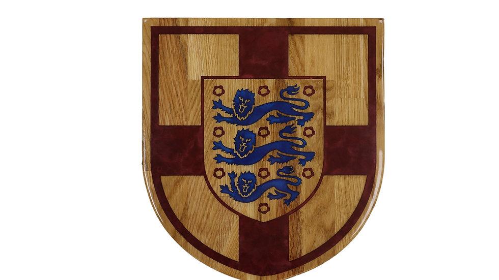 England Shield Wall Art