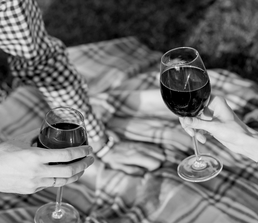 Wine and date night.