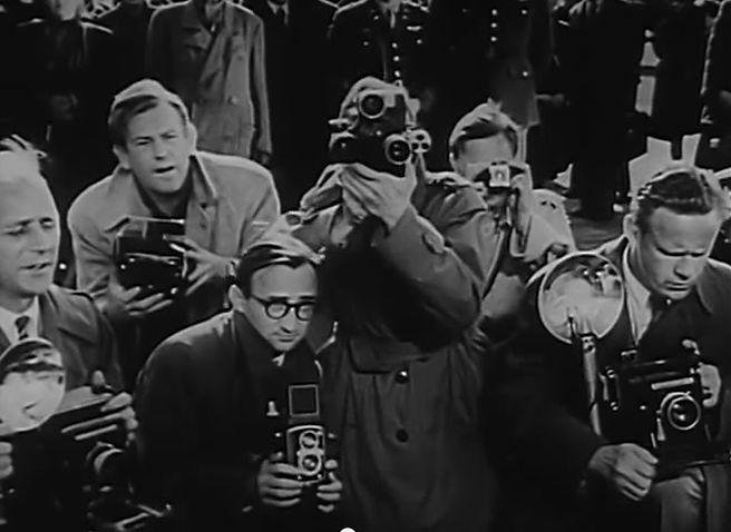 Cameramen taking photos