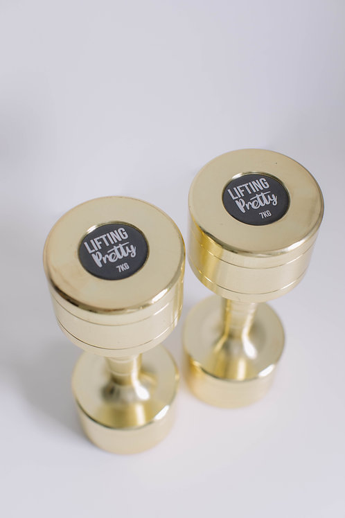 GOLD GLOSS 7KG PAIR, PERSONALISED