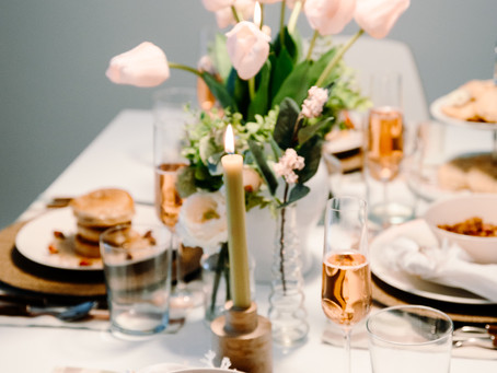 This is what a Mother's Day brunch table should look like