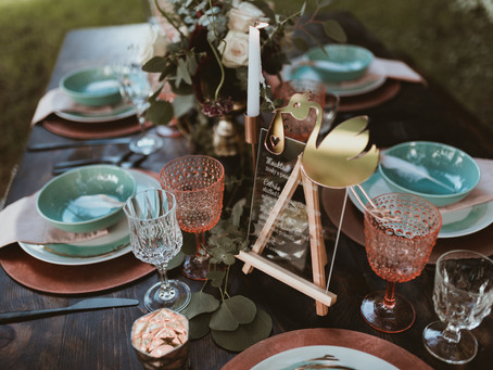 What NOT to do when creating a tablescape!