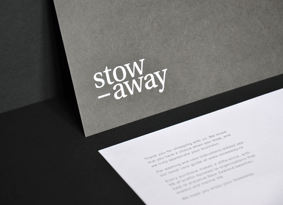 Stowaway Thank-you Cards