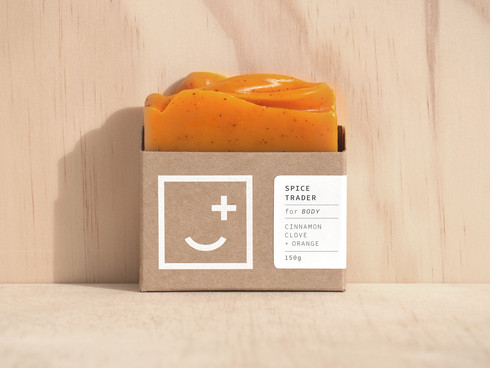 Fair and Square Soap Branding