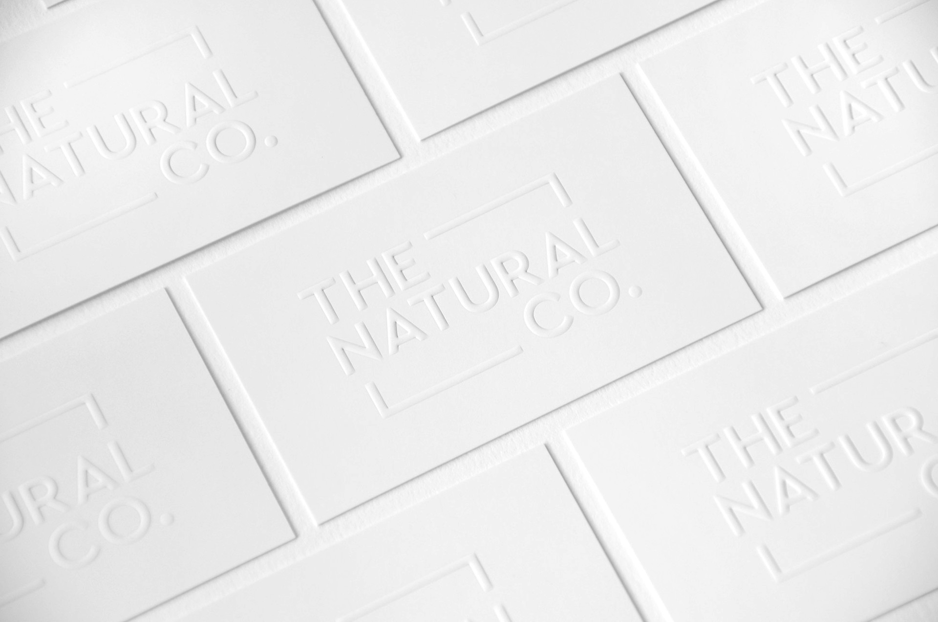 The Natural Co Branding and Business Cards