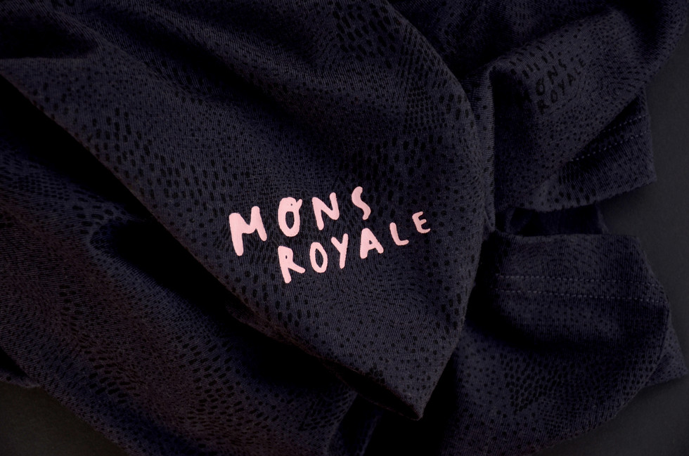 Mons Royale Fabric and Placement Print
