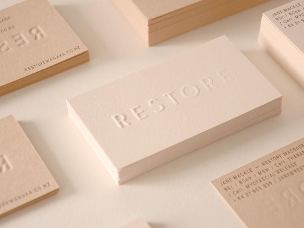 Restore Massage Cards