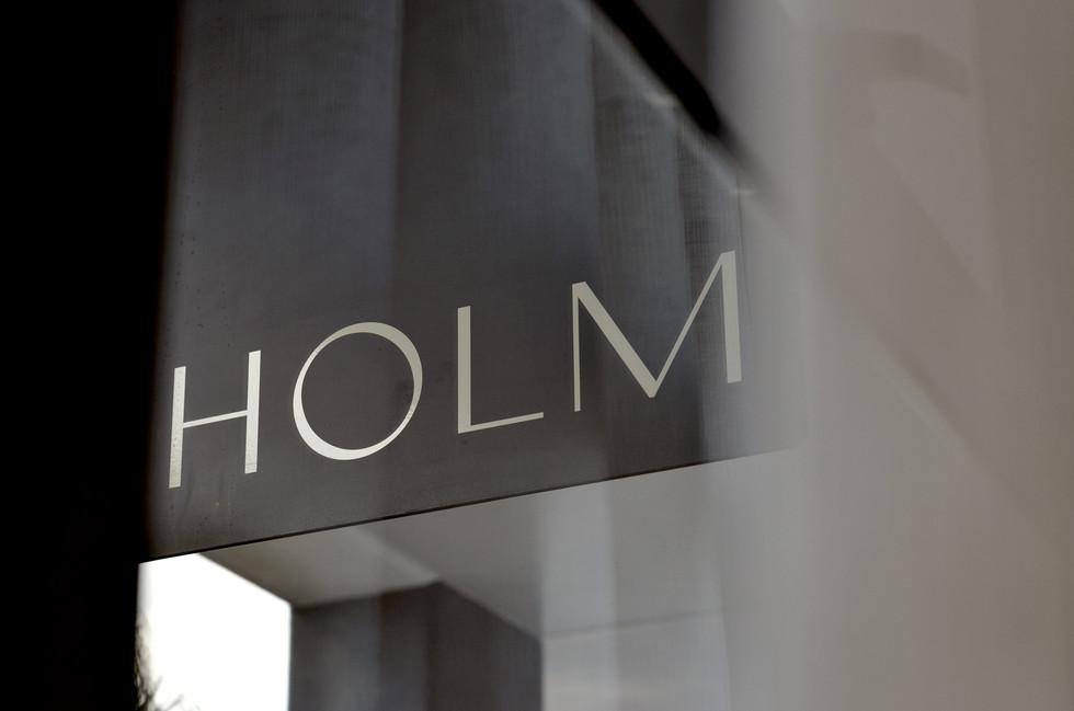HOLM Signage