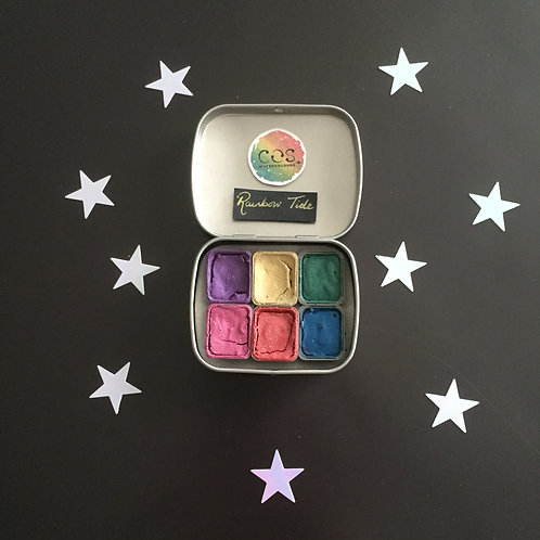 Rainbow Tide Palette