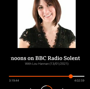 BBC Radio Solent Interview