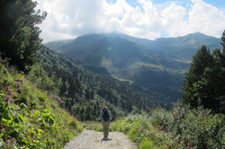 Hiking in the Vanoise park