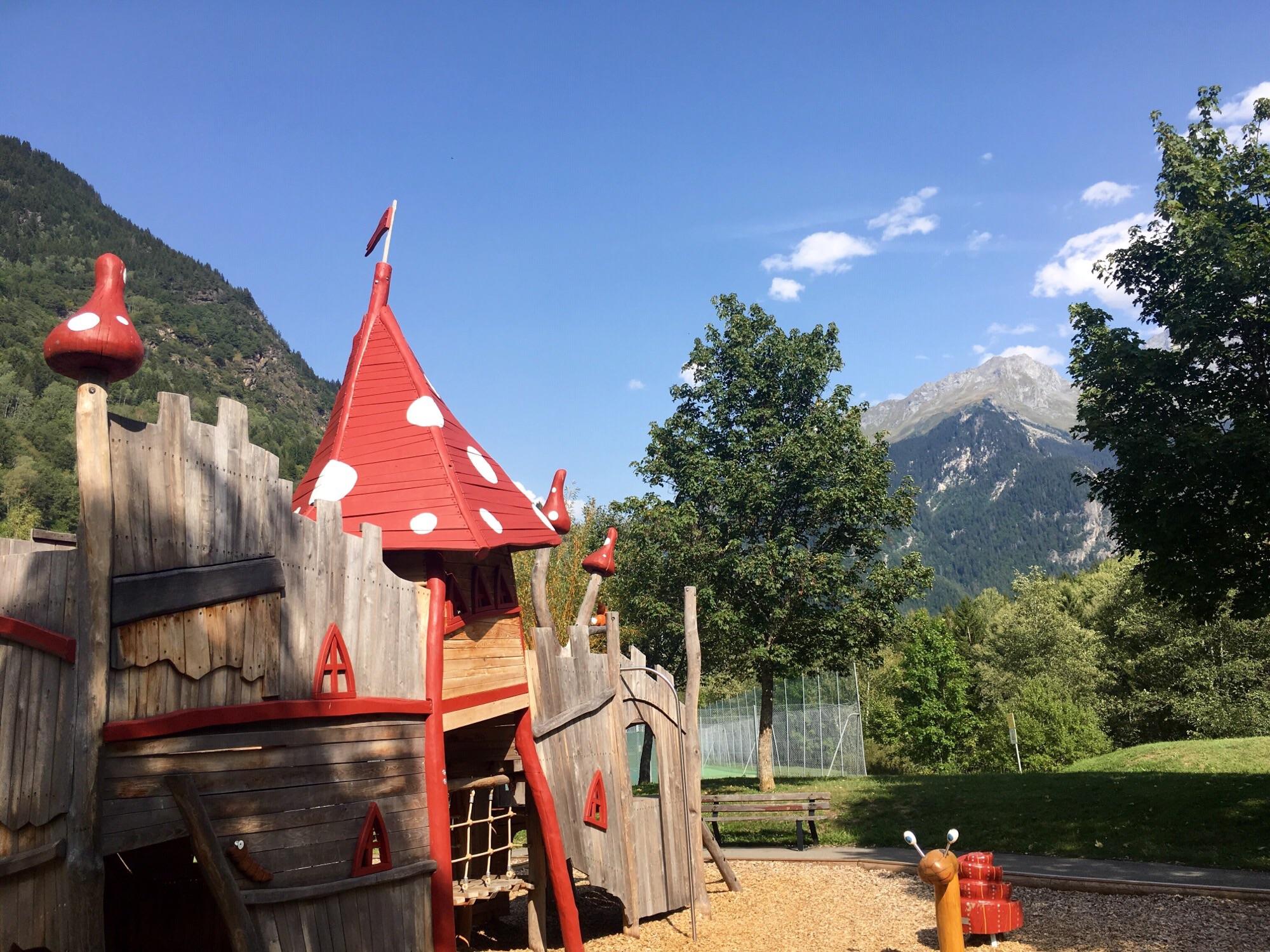 playground at Bozel