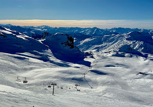 La Plagne ski slopes