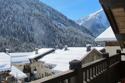 snowy terrace