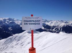 Champagny ski area