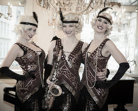 20s RELOADED GATSBY SHOWACT ★ 20er Jahre Show | Damen Band | Vintage | Party