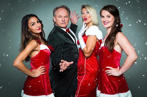 Magic Music Weihnachtsshow, Zauberei, Tanz &  Gesang, Comedy, Tänzerin, Sängerin, Magier, MChristmas, Wien, Österreich,