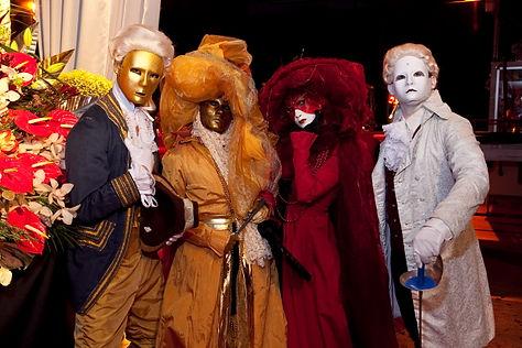 barock-pantomime-walkingact-karneval-ven