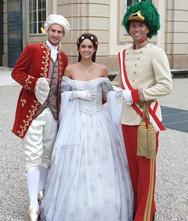 Mozart, Sissi & Franz Josef Walkingact für Hochzeit & Event ★★★ Künstler- & Entertainmentagentur Sugar Office | Wien | Österreich
