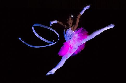 led-tanz-showact-bänder-sportgymnastik-l