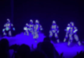 LED Show, LED Robot, Roboter, Tanz, Showact, Showact, Show, Hip Hop, Streetdance, Showdance, verschiedene Besetzungsgrößen, Tanzgruppe, Entertainment, Österreich, Austria, Wien, Vienna, Event - & Künstleragentur Sugar Office, www.sugar-office.com