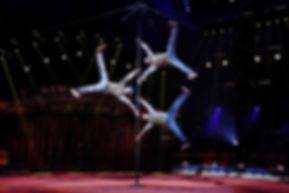 Chinese Pole Akrobatik Show