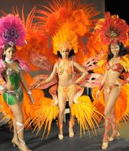 Samba Tänzerinnen Showact für Hochzeit & Event ★★★ Künstler- & Entertainmentagentur Sugar Office | Wien | Österreich