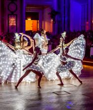 LED Ballerinas Tanz-Showact für Hochzeit & Event ★★★ Künstler- & Entertainmentagentur Sugar Office | Wien | Österreich