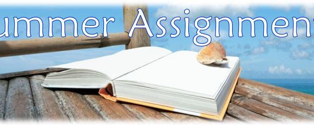 Summer Homework Packets