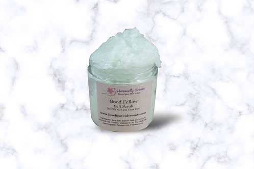 Good Fellow Salt Scrub Great for Men Soothing to Skin