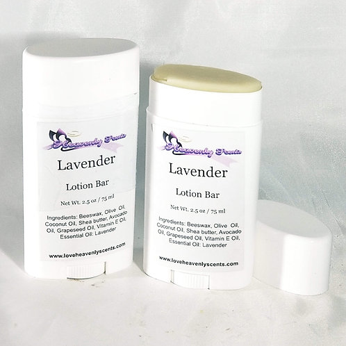 All-Natural Lotion Bars (Choose Scent)