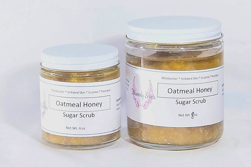 Oatmeal Honey Sugar Scrub