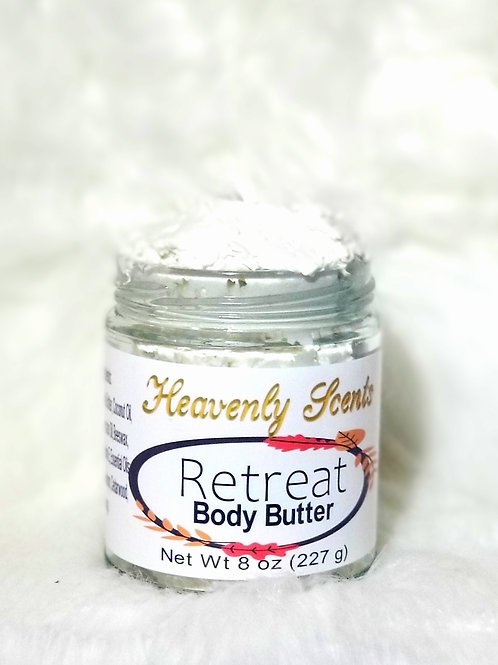 All Natural Whipped Retreat Body Butter