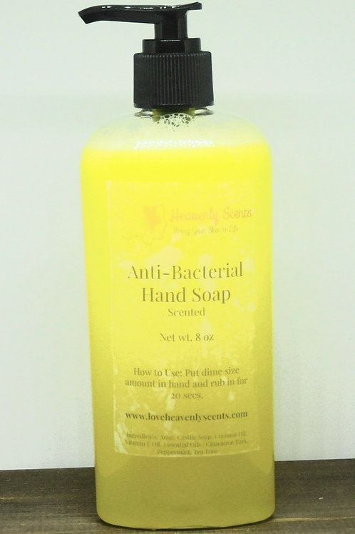 Anti-Bacterial Coconut Hand Soap (More Scents Available)
