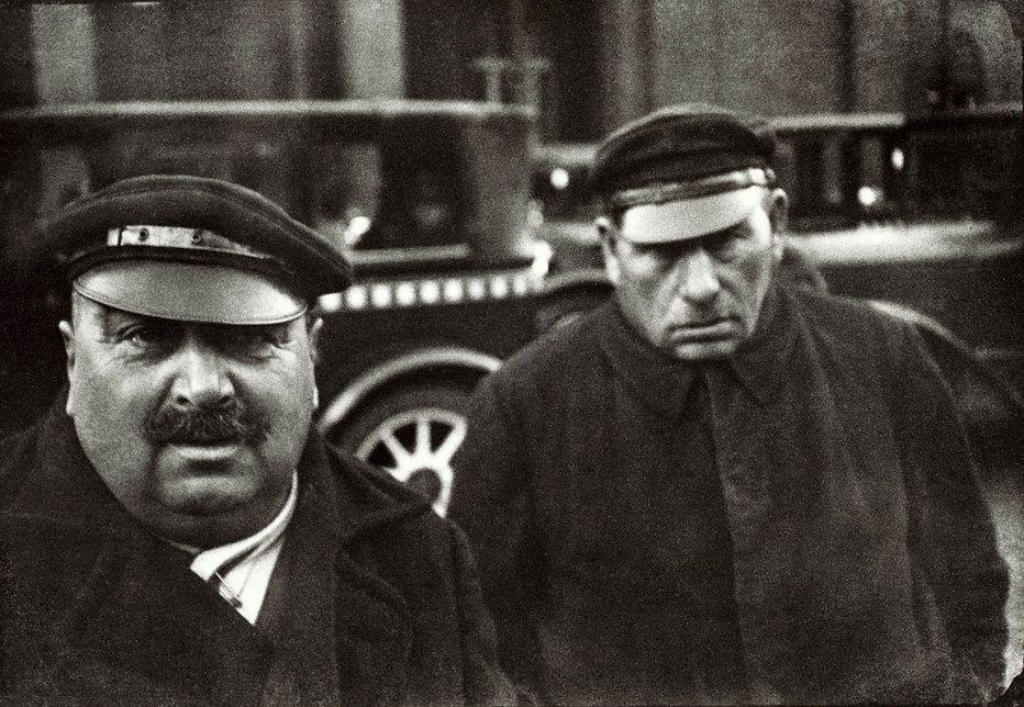 HCB Taxi Drivers, Berlin, 1931