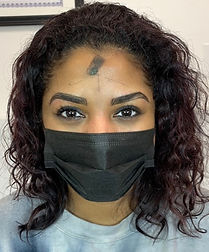 eyebrow color, permanent makeup color matching, eyebrows, powder brow, microblading