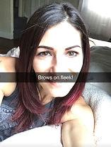 powder eyebrow procedure