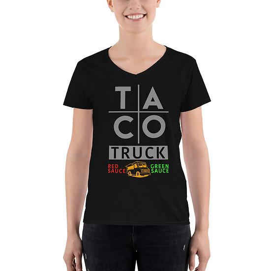 Taco Truck V-Neck Shirt
