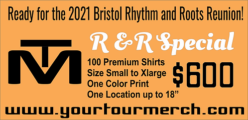 R & R Special Merch Package