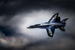 Canadian Air Force CF18 Display