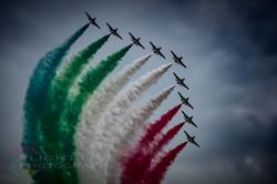 Italian Air Force Frecce Tricolore