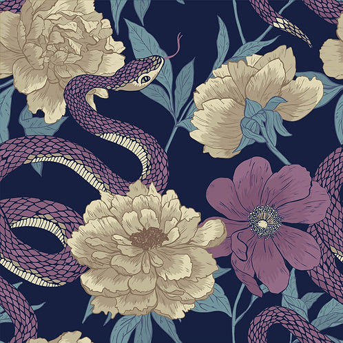 Vintage Venomous Floral