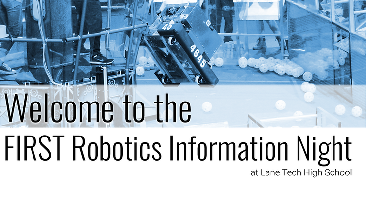 FIRST Robotics Information Night Slide D