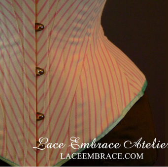 Custom Underbust Corset by Lace Embrace Atelier