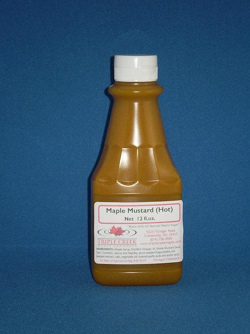 Maple Mustard – Hot /12 fl oz
