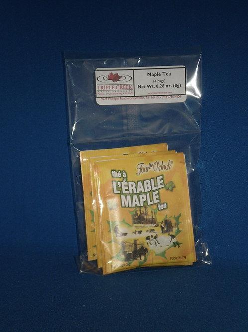 Maple Tea – Reg / Pkg of 4 Tea Bags