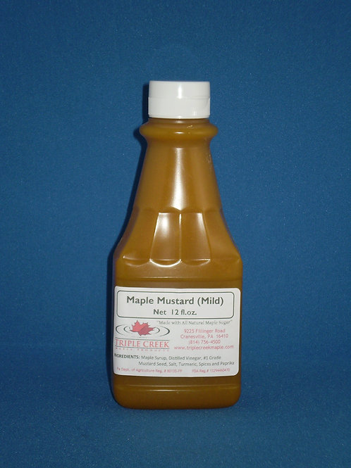 Maple Mustard – Mild /12 fl oz