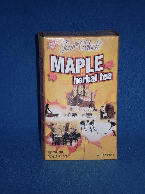 Maple Tea-Herbal / Box of 20 Tea Bags